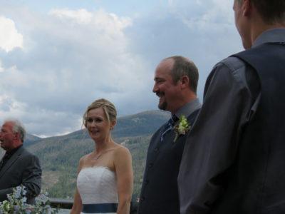 Carli and Scott after kiss