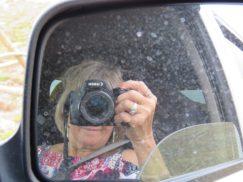 Deb w camera in mirror