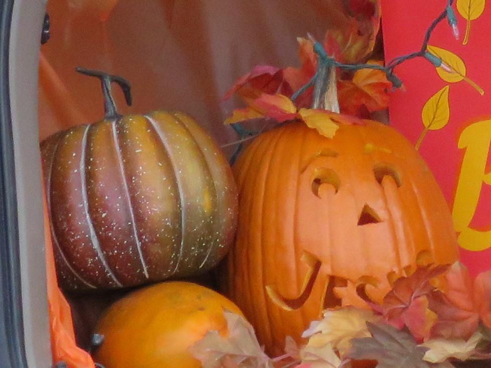 Jesus pumpkin