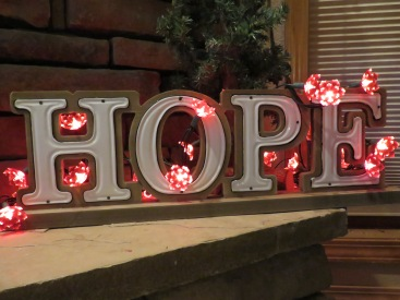 hope blooming